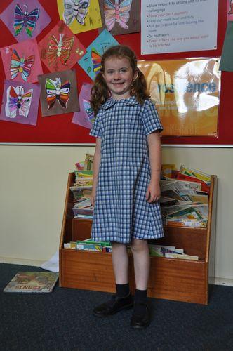 A pretty girls uniform