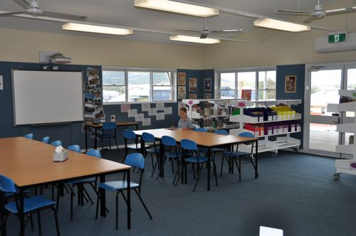 Our brand new contemporary library