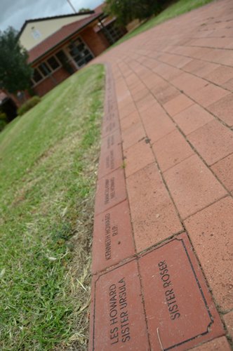Pavers to display our proud history