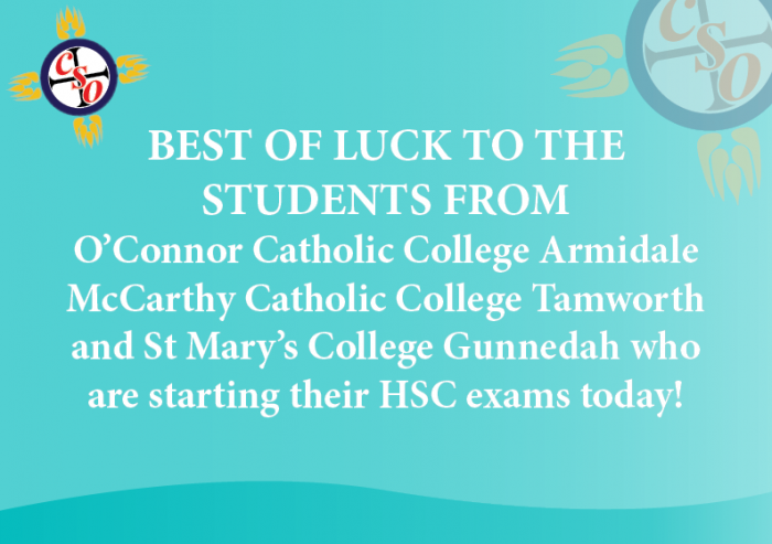 Well Wishes for the HSC