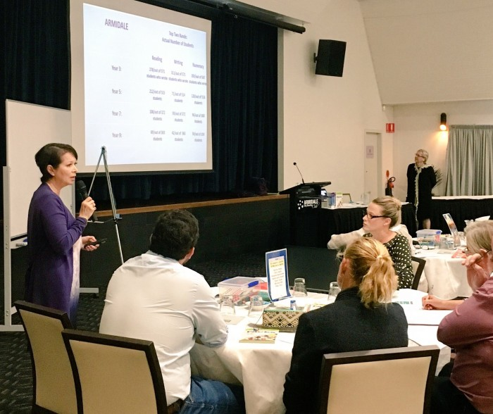 International Educator Lyn Sharratt Works With 100 Leaders From Across the Diocese