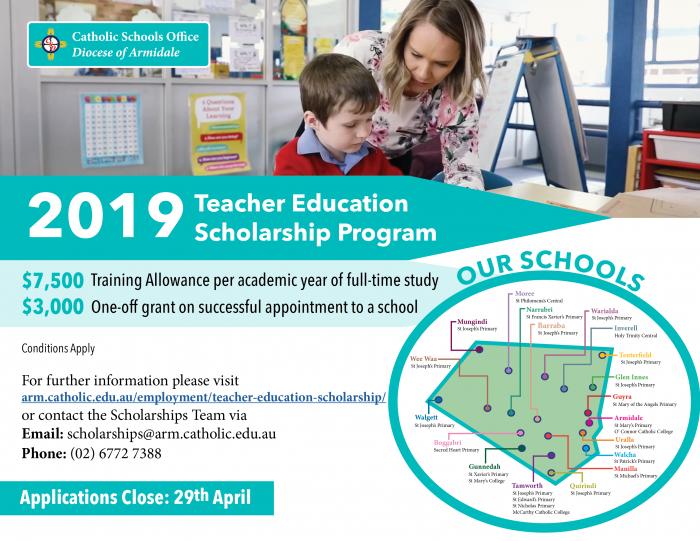 Teacher Education Scholarship Program